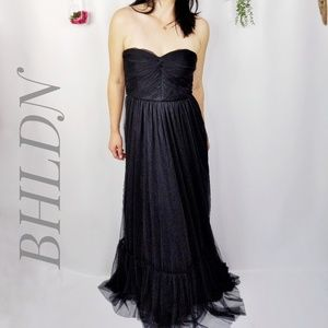 BHLDN VA ET VIEN Niceties tulle strapless dress